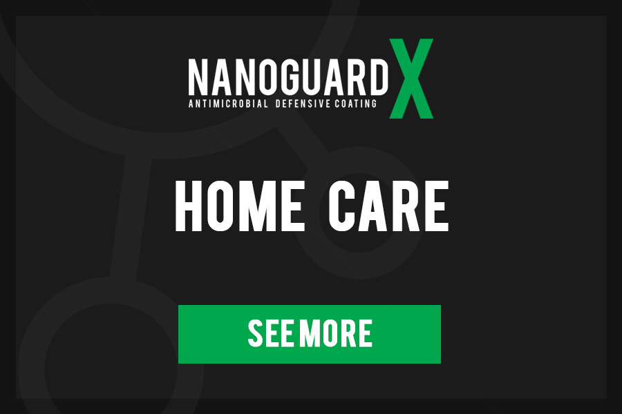 NanoGuard X Antimicrobial surface coating - Home Care