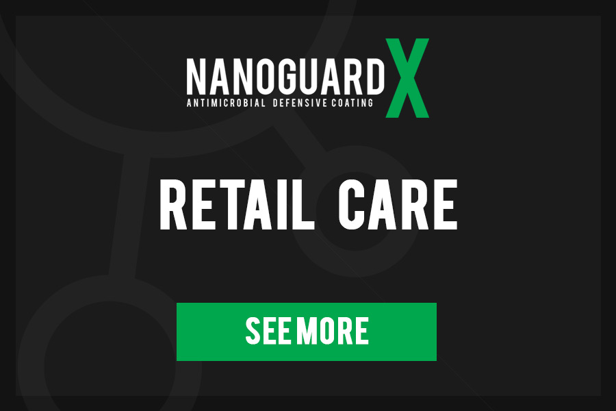 NanoGuard X Antimicrobial surface coating -Retail Care