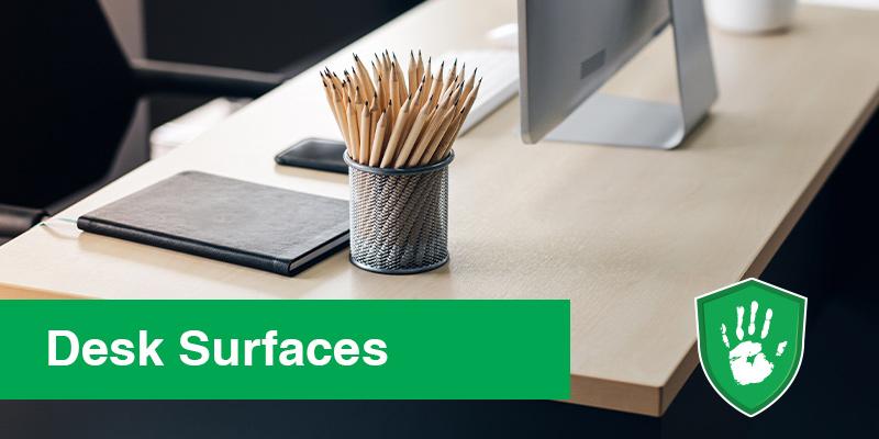 Touch Safe Coating for office desks office hygiene
