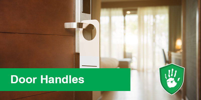 antimicrobial coating solution for door handles