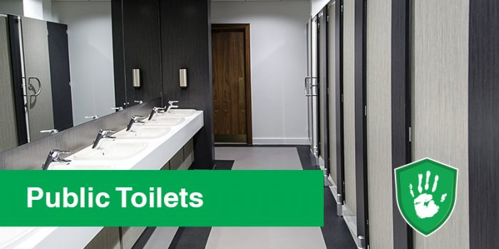 Germ Free Coating for Public Toilets