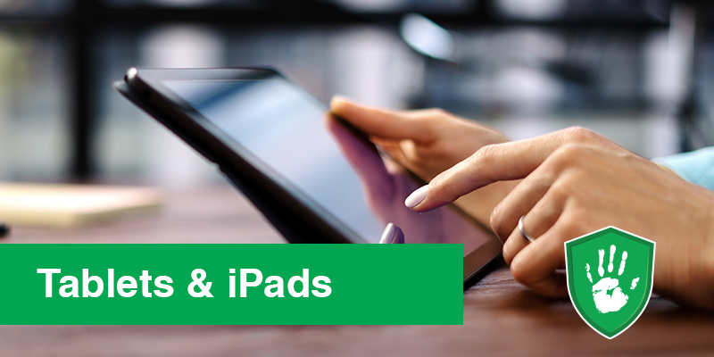 NanoGuard X Antimicrobial Coating Protection for iPads and Tablets